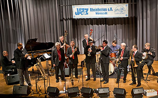 Barrelhouse Jazzband 2013 - Foto: Mümpfer