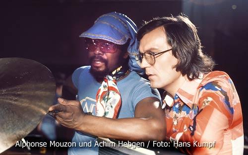 Alphonse Mouzon & Achim Hebgen - Foto: Hans Kumpf