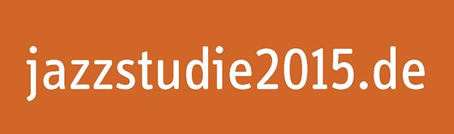 Jazzstudie 2015 - Logo