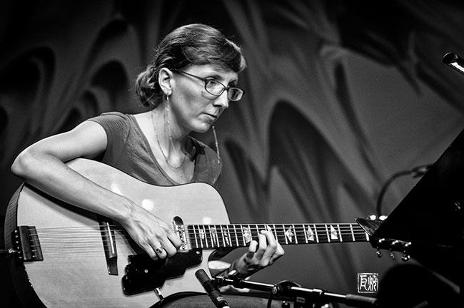 Mary Halvorson - Photo by Schindelbeck