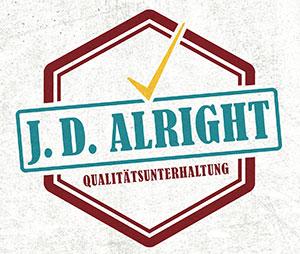 J. D. Alright - Qualitätsunterhaltung - Cover