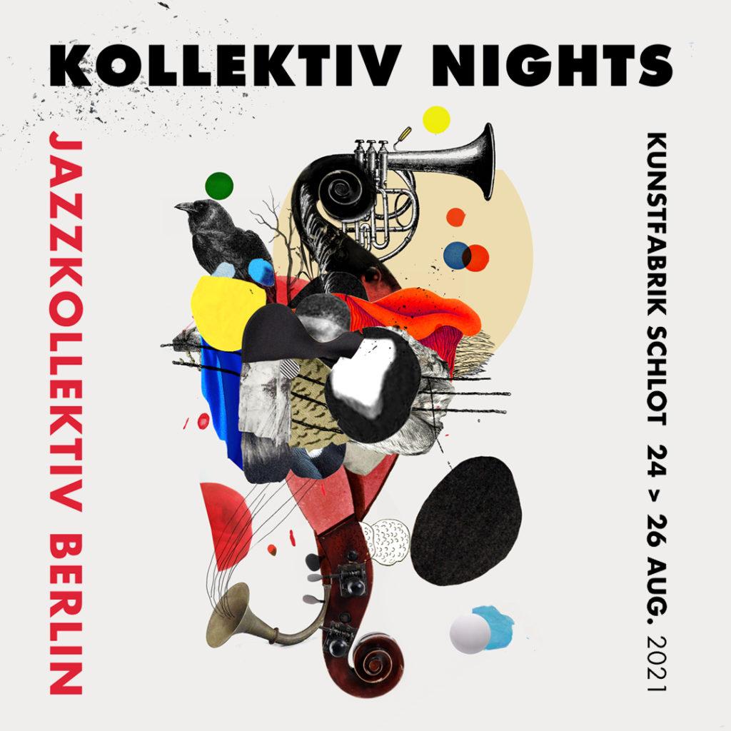 Jazzkollektiv Berlin - Kollektiv Nights 2021 - Plakat