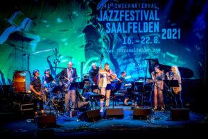 Kaja Draksler Octet @ Saalfelden 2021 - Photo: Schindelbeck
