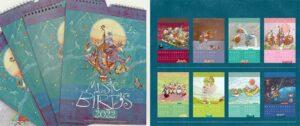 Music Birds / Jazz Birds - Kalender Nicole Schneider