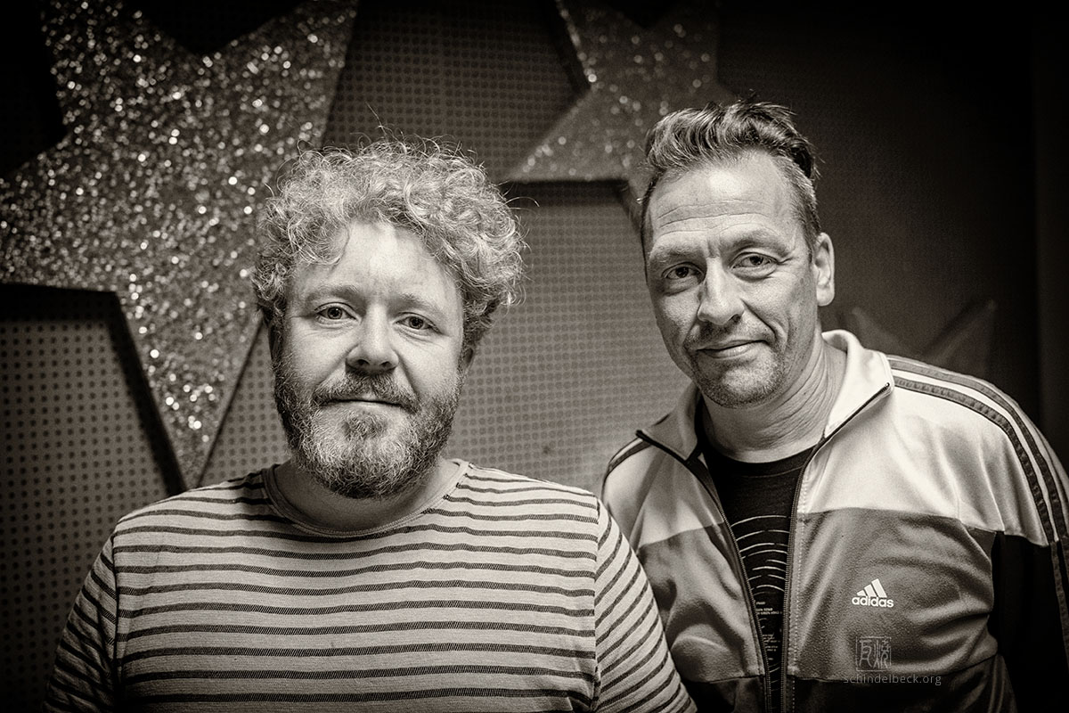 Christian Huber und Matthias Debus - Photo: Schindelbeck